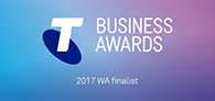 2017 Telstra Australian Business Awards WA Finalist