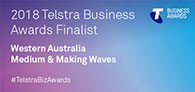 2018 Telstra Australian Business Awards WA Finalist