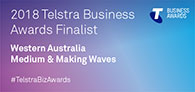 Telstra Australian Business Awards 2018 WA Finalist